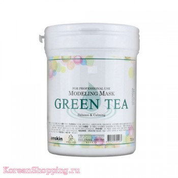 Anskin Green Tea Modeling Mask