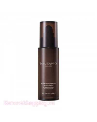 Nature Republic Snail Solution Emulsion