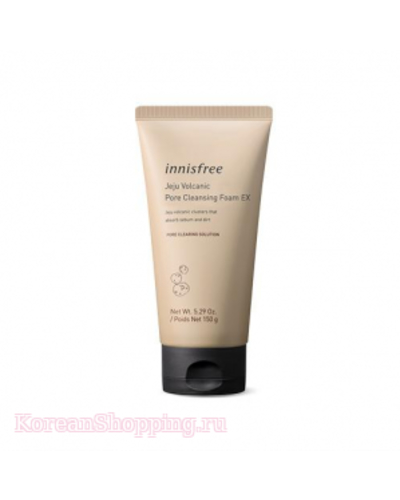 INNISFREE Jeju Volcanic Pore Cleansing Foam EX