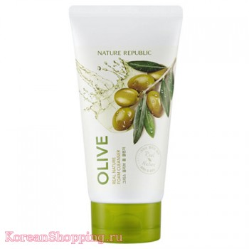 Nature Republic Real Nature Olive Foam Cleanser