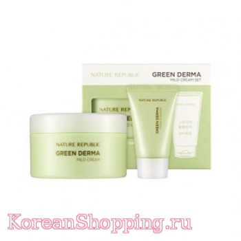 Nature Republic Green Derma Mild Cream Set