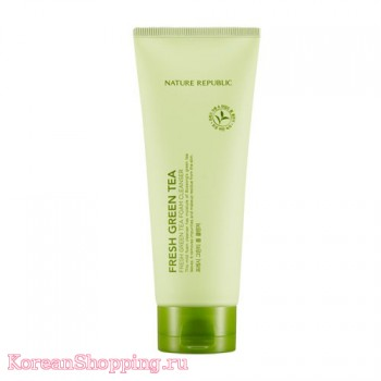 Nature Republic Fresh Green Tea Foam Cleanser