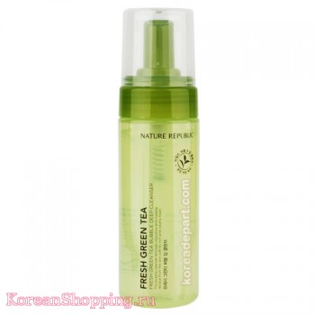 Nature Republic Fresh Green Tea Bubble Deep Cleanser