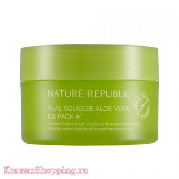 Nature Republic Real Squeeze Aloevera Ice Pack