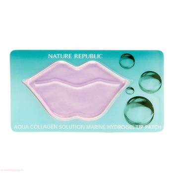 Nature Republic Aqua Collagen Solution Marine Hydrogel Lip Patch