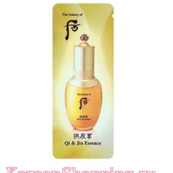Пробник (10 шт.) The History Of Whoo Gongjinhyang Qi & Jin Essence