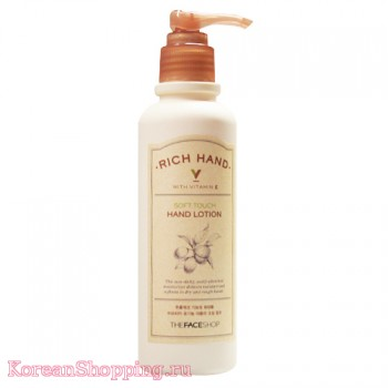 The Face Shop Rich Hand V Soft Touch Hand Lotion