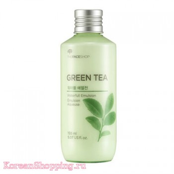 The Face Shop Green Tea Waterfull Emulsion