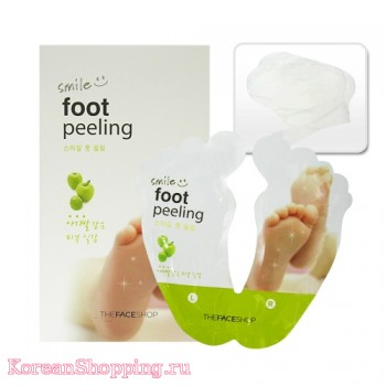 The Face Shop Smile Foot peeling