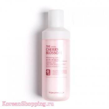 Tony Moly The HAYAN Cherry Blossom Whitening Lotion