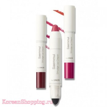 The Saem Saemmul Smudge Lip Crayon