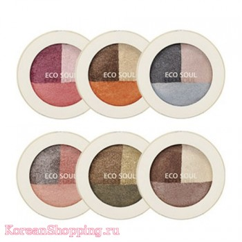 The Saem Eco Soul Triple Dome Shadow