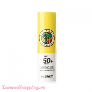 The Saem Eco Earth Power Clear Sun Stick (SPF50+ PA+++)