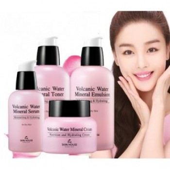 The Skin House Volcanic water Mineral 4 items set