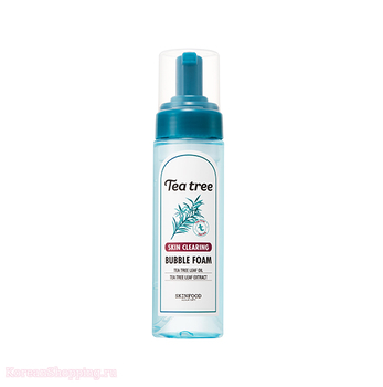 SKINFOOD Tea Tree Skin Clearing Bubble Foam