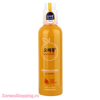 ETUDE HOUSE O-LE-MONG One Shot Morning Gel Cleanser