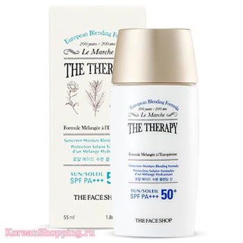 THE FACE SHOP The Therapy Royal Made Moisture Blending Sun SPF50+ PA+++