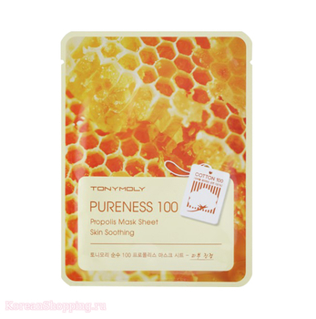 Tony Moly Pureness 100 Mask Sheet Propolis