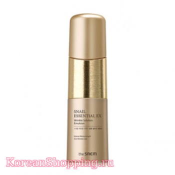 THE SAEM Snail Essential EX Wrinkle Solution Emulsion