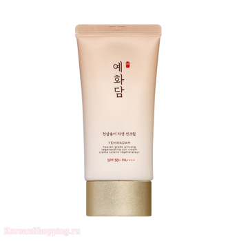 THE FACE SHOP Yehwadam Heaven Grade Ginseng Regenerating Sun Cream SPF50+ PA++++