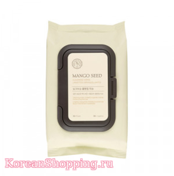 THE FACE SHOP Mango Seed Silk Moisturizing Cleansing Wipes