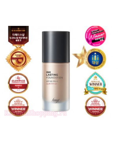 THE FACE SHOP Ink Lasting Foundation Slim Fit SPF30 PA++
