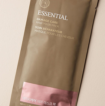 THE FACE SHOP Essintial Damage Care Hair Mask Pack