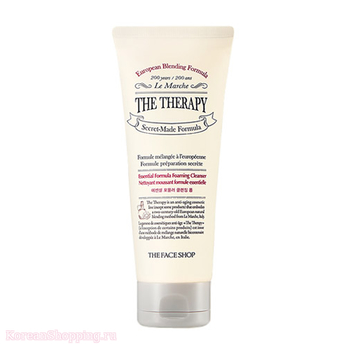 THE FACE SHOP The Therapy Essential Formula Cleansing Foam