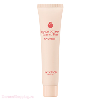 SKINFOOD Peach Cotton Tone Up Base SPF50+ PA++