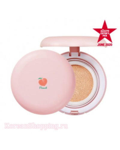 SKINFOOD Peach Cotton Cushion SPF50+ PA++++