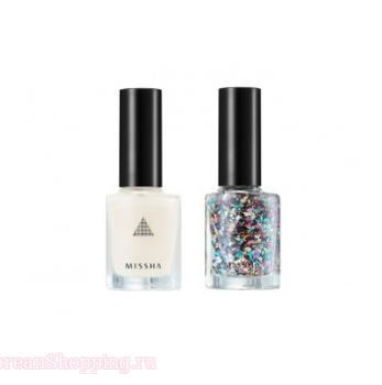 MISSHA Self Nail Salon Glitter Look