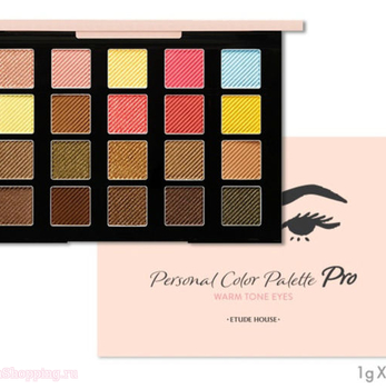 ETUDE HOUSE Personal Color Palettes Pro Warm Tone Eyes