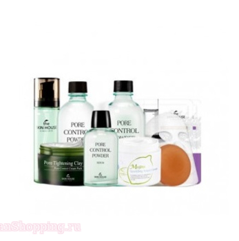 THE SKIN HOUSE Pore Control 9 items Set