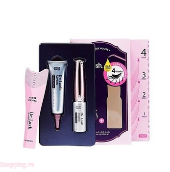 ETUDE HOUSE Dr.Lash Ampule Long & Volume ampule + serum