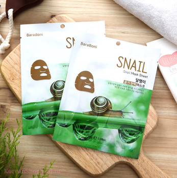 BARABONI Snail Mask Sheet