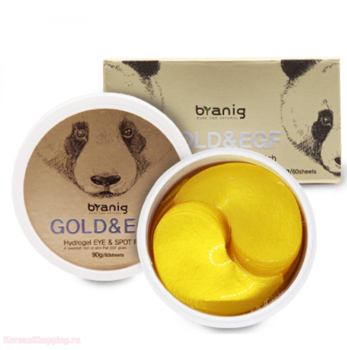 BRANIG Gold & Egf Hydrogel Eye & Spot Patch