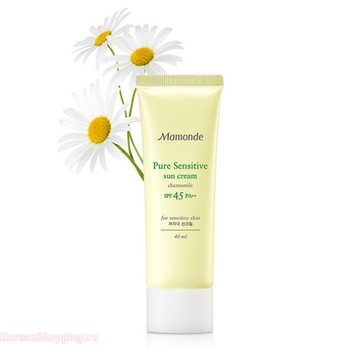 MAMONDE Pure Sensitive Sun Cream SPF45 PA++