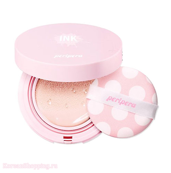 PERIPERA Ink Lasting Pink Cushion SPF50+ PA+++