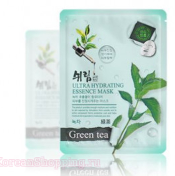 SHELIM ultra hydating essence mask [Green tea]