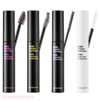 THE FACE SHOP Mini Power Mascara