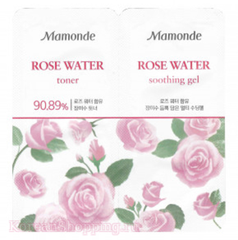 MAMONDE Rose Water Toner & Multi Soothing Gel
