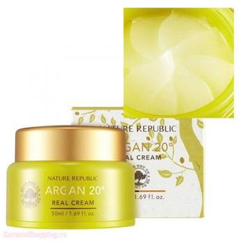 NATURE REPUBLIC Argan 20˚ Real Cream