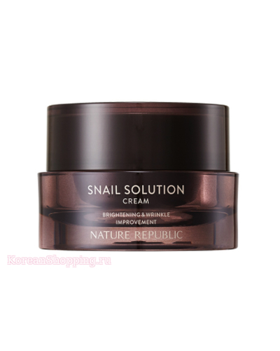 NATURE REPUBLIC Snail Solution Cream