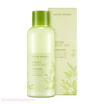 NATURE REPUBLIC Fresh Green Tea 70 Emulsion