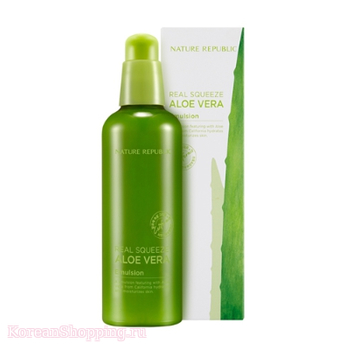 NATURE REPUBLIC Real Squeeze Aloevera Emulsion