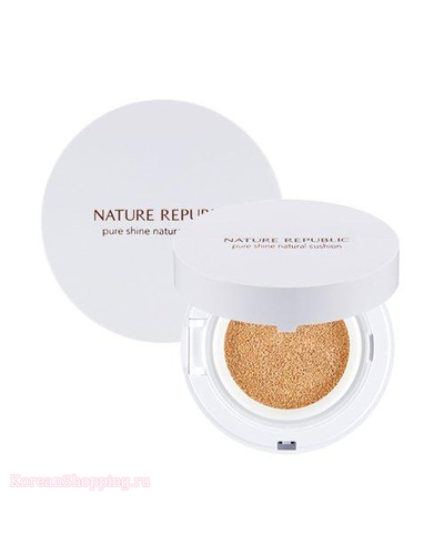 NATURE REPUBLIC Pure Shine Natural Cushion SPF50+ PA+++