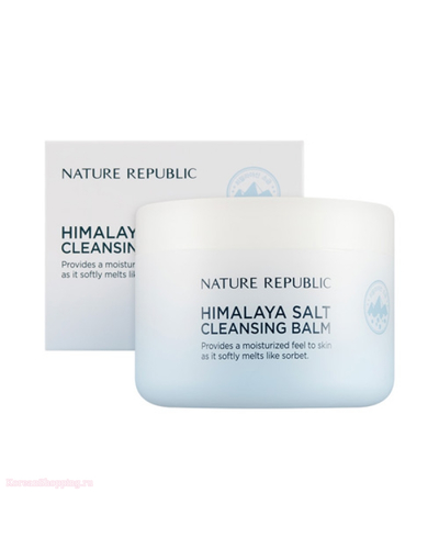 NATURE REPUBLIC Himalaya Salt Cleansing Balm - White Salt