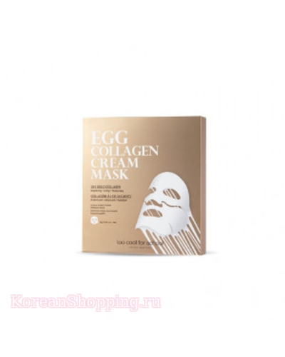 TOO COOL FOR SCHOOL Egg Collagen Cream Mask