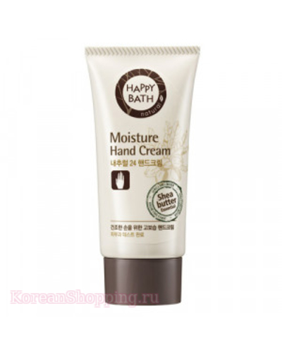 HAPPY BATH Natural 24 Moisture Hand Cream
