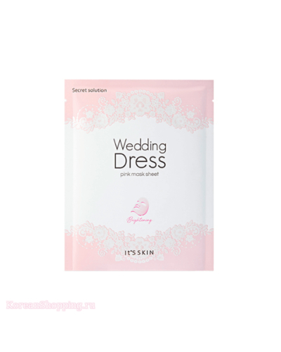 IT'S SKIN Secrete Solution Wedding Dress Mask Sheet